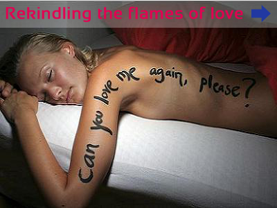 Rekindling the flames of love